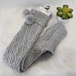 NWT La Vie en Rose long socks